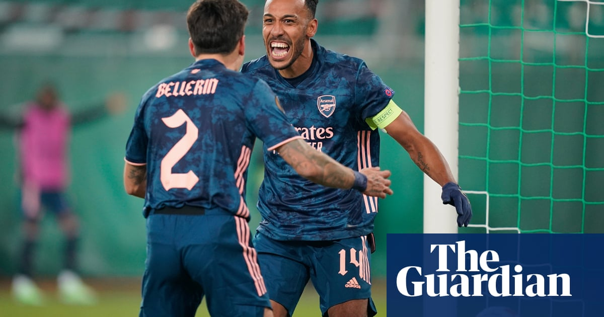 People expect Aubameyang to score every game at Arsenal, says Arteta