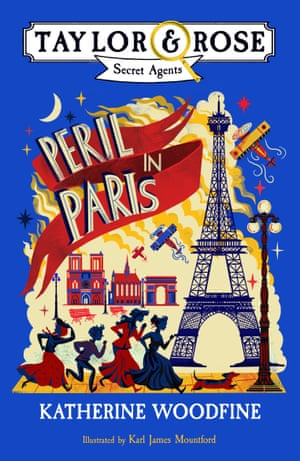 Peril in Paris by Katherine Woodfine