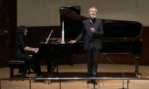 Insights: Mitsuko Uchida and Mark Padmore perform Schubert's Winterreise at the Wigmore Hall.