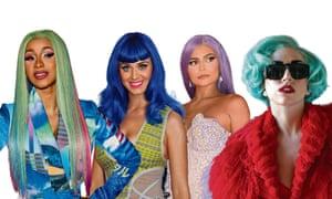 Good wig hunting: Cardi B, Katy Perry, Kylie Jenner, Lady Gaga.