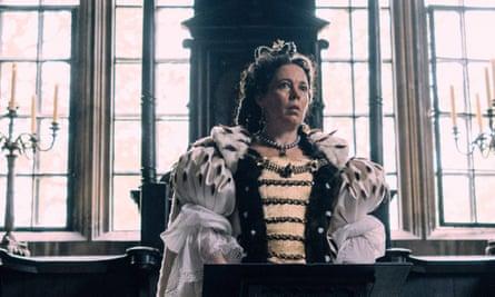 Olivia Colman in The Favourite.