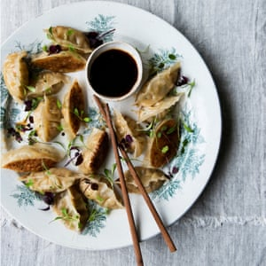 Anna Jones's mini squash and chive dumplings.