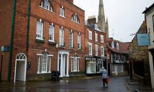 Tory voters in Grantham deny their local party has been the subject of a 'Ukip takeover'.