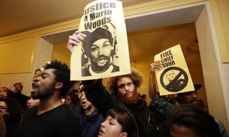The death of Mario Woods in 2015 sparked large demonstrations.