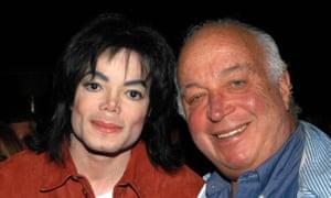 Stein with Michael Jackson.