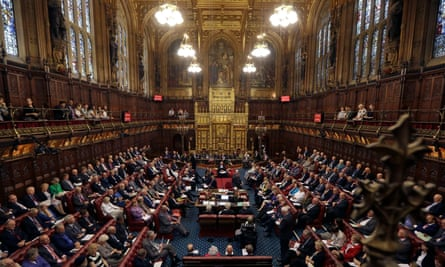 Loss of libraries 'simply cannot be allowed to happen,' Gail Rebuck told the House of Lords.