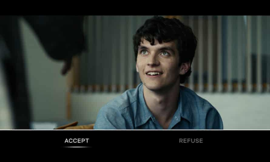 TV with added responsibility … Bandersnatch.