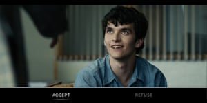 Black Mirror: Bandersnatch offered viewers choices in how the story developed.