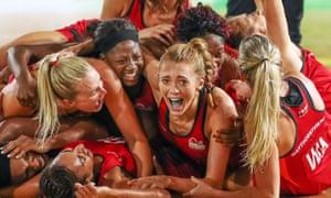 England women's netball team