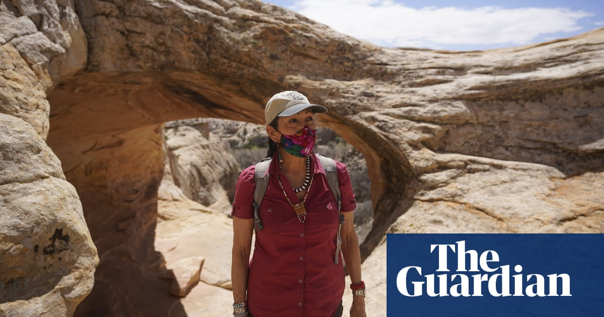 'The earth holds so much power': Deb Haaland visits sacred site Trump shrank