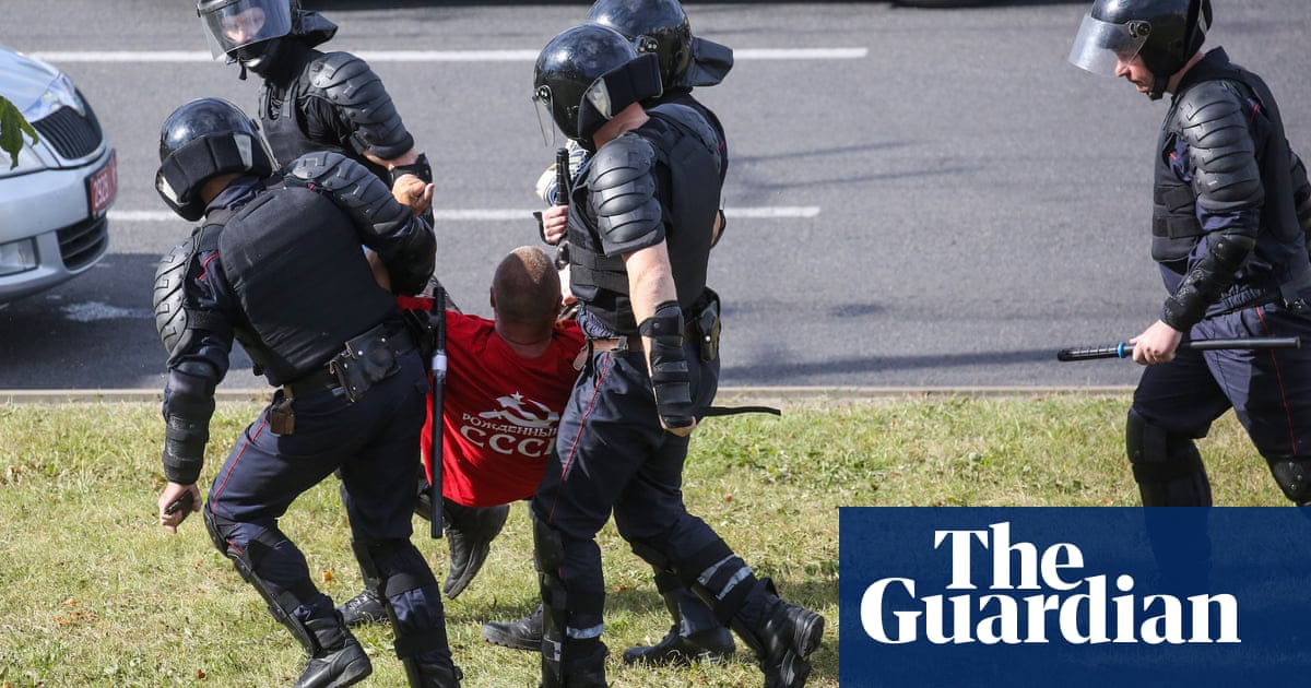 Belarus protests: more than 6,000 arrested, says interior ministry