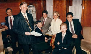 Tory MP William Cash, pictured in 1993 with Maastricht Referendum Campaign