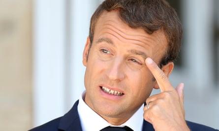Emmanuel Macron S Popularity Slumps Again France The Guardian