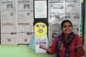 Balaknama's editor Chandni
