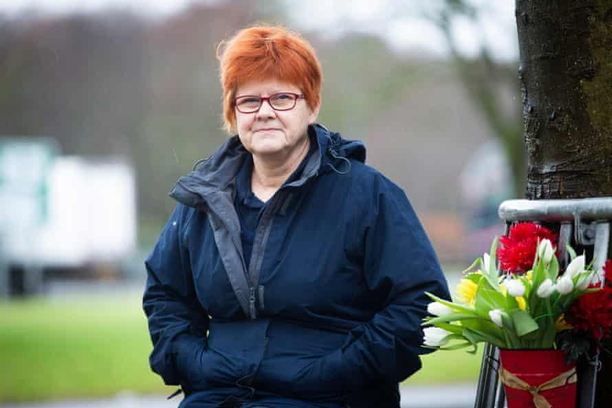 Community care worker Sheila Petrie