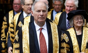 Lord Neuberger, the president of the UK's supreme court