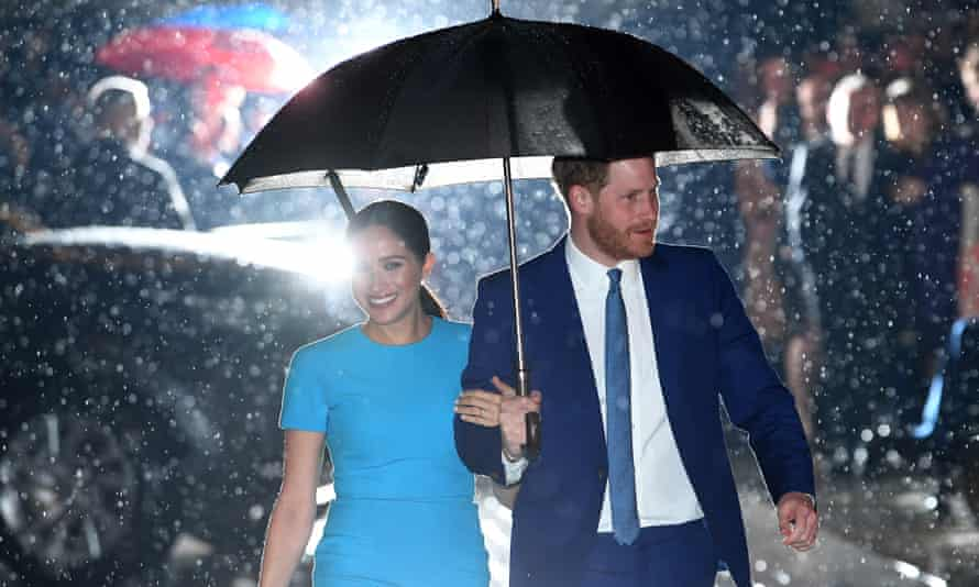 The royal family's most polarising members. Meghan and Harry.