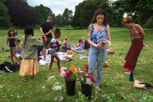Midsummer Festival Prospect Park, 2017 Levitt's work encouraged me totry my hand at spontaneous street photography, focusing my cam- era on those inhabiting this cacophonous, often overwhelming place who were, perhaps, even shyer than I was: children.