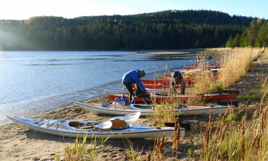 kayaks Sweden High Coast