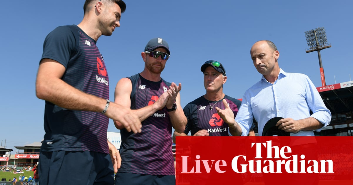 South Africa v England: first Test, day one – live!