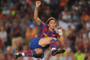 8) Zlatan Ibrahimovic (Internazionale - Barcelona, 2009) £57m