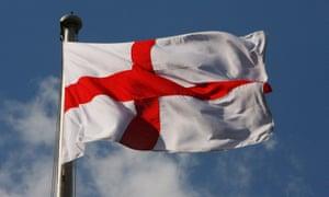 An English flag.