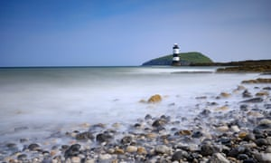 Trwyn Du Lighthouse and Puffin Island, Anglesey