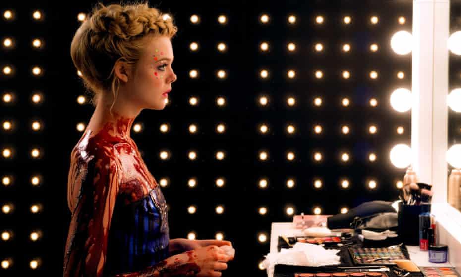Elle Fanning in Nicolas Winding Refn's 2016 film, The Neon Demon