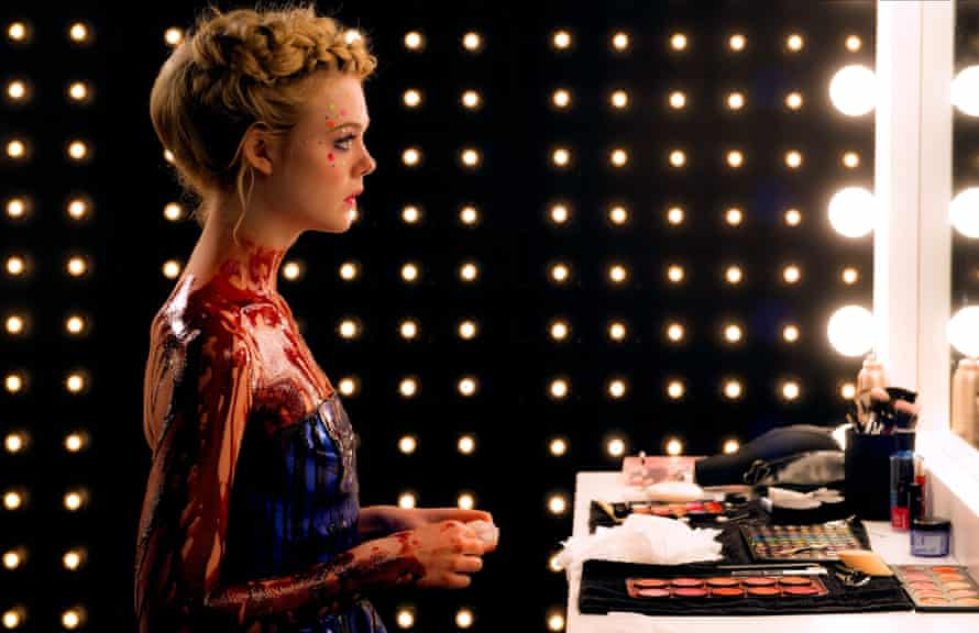 'Mirrors are everywhere…' Elle Fanning as Jesse, the 16-year-old ingenue seduced into a narcissistic underworld in The Neon Demon. Allstar