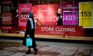 From Laura Ashley To Debenhams The Biggest Retail Collapses Of 2020 Business The Guardian