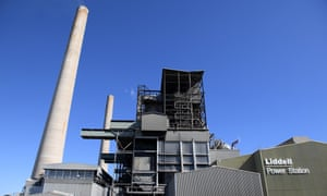 The Liddell power station in Muswellbrook, NSW