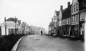 Letchworth, pictured in 1912, was the UK's first 'garden city'.