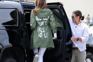 Joint Base Andrews, Maryland First Lady Melania Trump