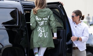 Melania Trump: was it just a crass fashion choice?