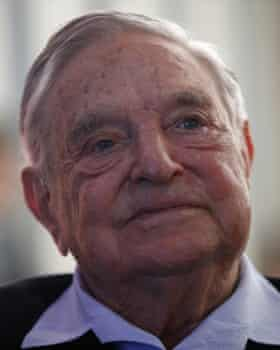 George Soros, financier and philanthropist.