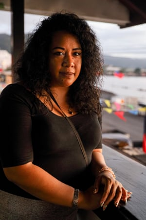 Doris Tulifau is founder of Brown Girl Woke, a group working on domestic violence awareness in Samoa.