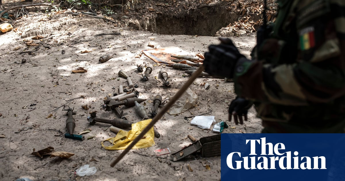 Two children among six killed by old landmine in Senegal