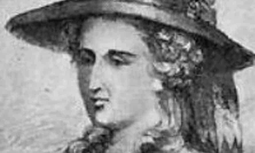a portrait of Ann Radcliffe