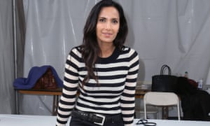 Padma Lakshmi, author of Love, Loss and What I Wore, at the 2016 Los Angeles Times Festival of Books.