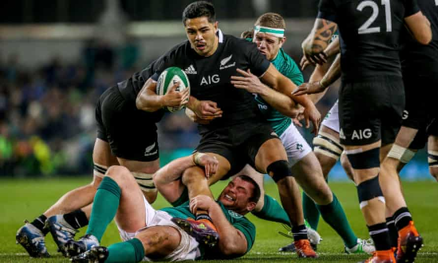 Ireland's Sean Cronin and Jack McGrath take down Anton Lienert-Brown – Andy Farrell delivered a defensive masterplan against the All Blacks.