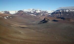 McMurdo Dry Valleys in Antarctica.