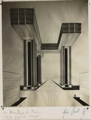 El Lissitzky, Cloud Iron, 1924