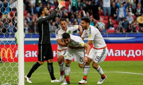 Héctor Moreno's stoppage-time header earns Mexico draw against Portugal