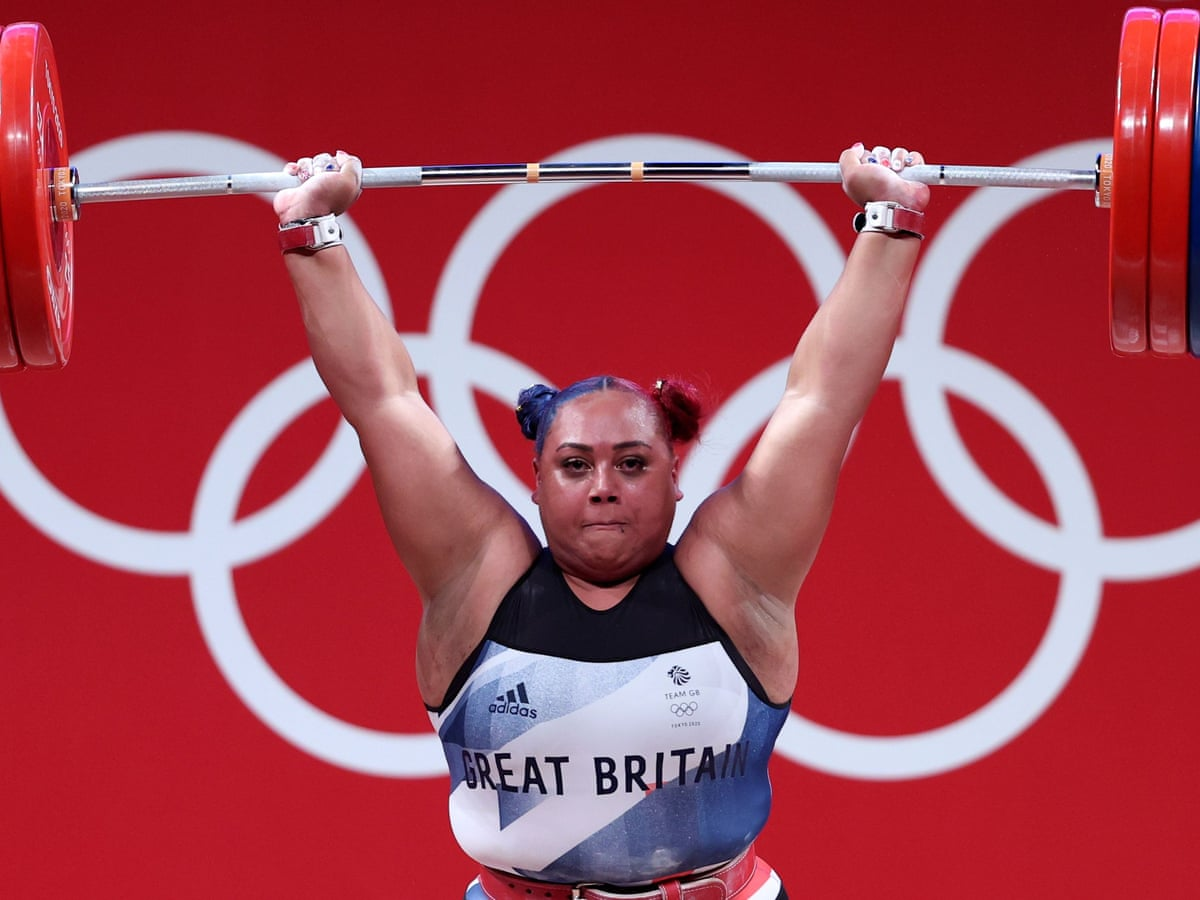 Britain's Emily Campbell wins historic Olympics weightlifting silver medal  | Weightlifting | The Guardian