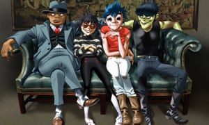 Things don't always turn out like you expect … Gorillaz.