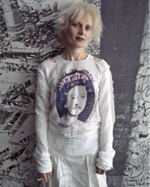 The grand dame of distressed clothes … Vivienne Westwood, 1977.
