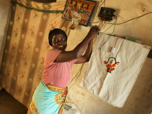 Lines Nguluwe Solar mamas Malawi