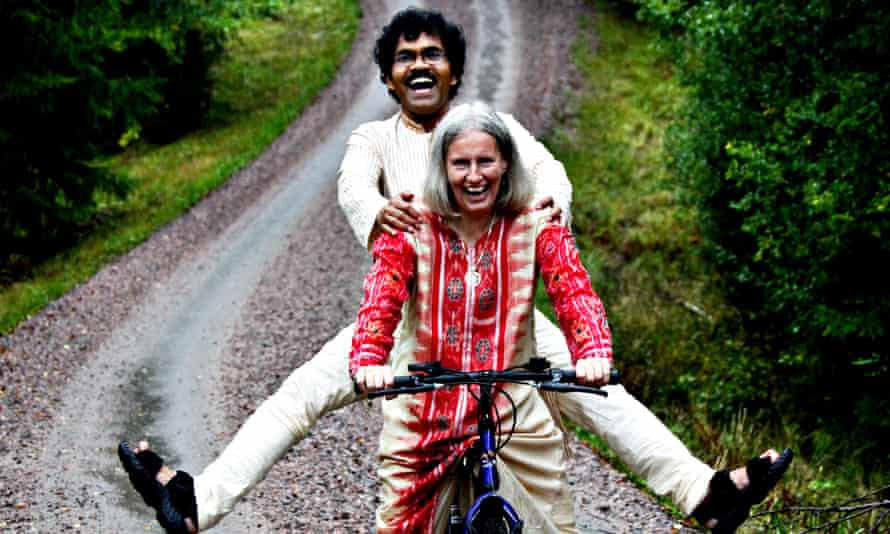 PK and Lotta in Sweden, where they live.