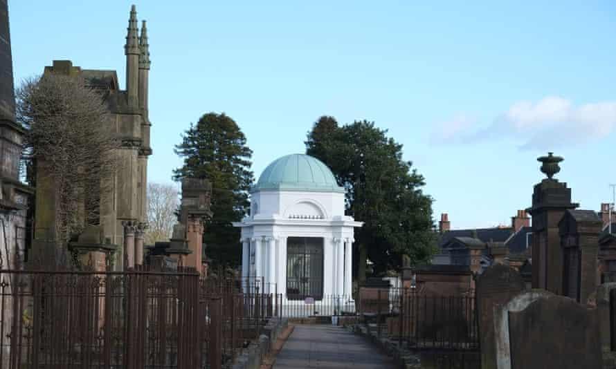 Whited sepulchre … The Robert Burns Mausoleum, Dumfries.