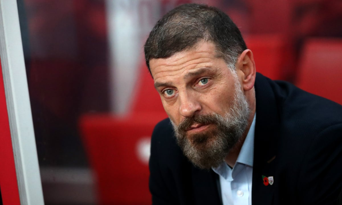 Slaven Bilic: 'West Ham is a very difficult club to manage'   Slaven Bilic    The Guardian